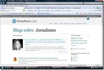 Elogios ao Blogue