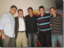 Fillipe Bitencourt - Paulo Melo - Flavio Amaral - Michael Bello e outros (Grupo da Juventude PMDB)