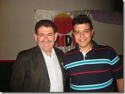 Lider de Governo na Assembléia e Deputado Estadual Paulo Melo e Ciro Fontoura - Presidente da Juventude PMDB