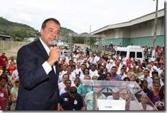 11/11/2009; Governador Sérgio Cabral na Cerimônia de Inauguração da nova UTI do Hospital Alberto Torres; Foto: Carlos Magno