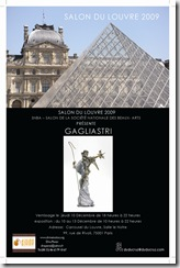 Convite 2009  GAGLIASTRI grafic