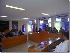 Sessão que reelegeu a mesa diretora