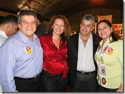 Alexandre Santos, vereador Castor de Maricá e Soraia Santos