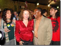 líder comuitário e suplente de vereador de Caxias  apóia Zeidan, ao lado de Andréa Monken, de Maricá
