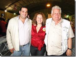 Luciano Rangel Junior, pres. Câmara Municipal de Maricá, Zeidan e Vladimeir Palmeira