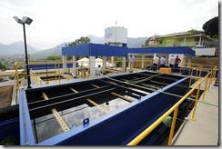 31-01-2011; Maricá; Inauguração das obras de ampliação da estação de tratamento de água do Município de Maricá; Foto: Marino Azevedo