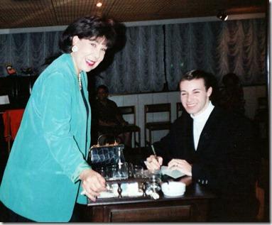 FOTO 1 - Maria Augusta e Conde Thiago de Menezes Anos 1990