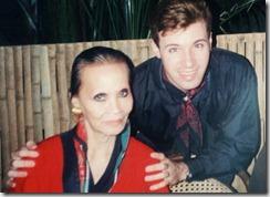 Foto 3 - Christine Yufon e Conde Thiago de Menezes Anos 1990