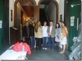 Afonso Drumont, Ricardo Poock e  Fernanda, Rosely Pellegrino, Elisa Nascimento, Ricardo Cravo Albin, Myrtes Almada e Marcia Pessoa