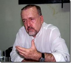 Secretário de Cultura de Maricá Ricardo Cravo Albin