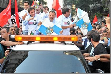Sergio Cabral em Defesa do Rio