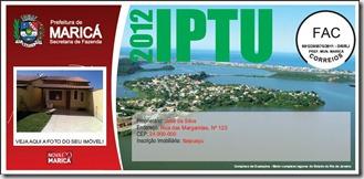 Carne IPTU 2012