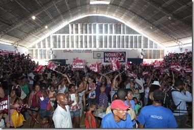 24/01/2012; Rio de Janeiro; Lançamento do Programa Renda Melhor e Renda Melhor Jovem em Silva Jardim; Fotos: Marino Azevedo