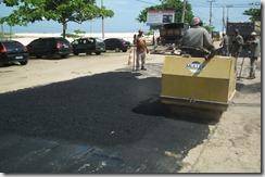 Prefeitura faz manutenção de ruas Foto 2 Fernando Silva