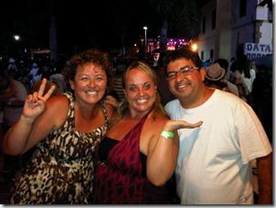 Rosangela Zeidan, Lurian Lula da Silva e o prefeito de Maricá Washington Quaquá