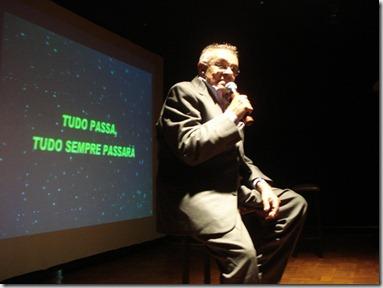 Chico Anysio durante show realizado em Maricá 29.11.2008