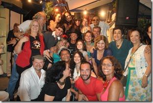 Os artistas no ICCA, no Dia Internacional da Poesia