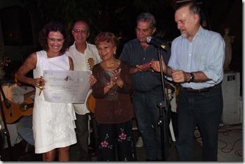 Zélia Duncan, Joel do Bandolim, Ademilde Fonseca, Renato Abreu e Ricardo Cravo Albin