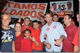 Lurian da Silva, Marcos Ribeiro, Quaquá, Helter Ferreira, Lindberg Farias, Richard e Fabiano Horta