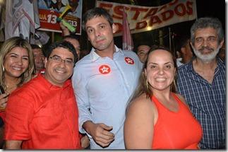 Quaquá, Lindberg, Lurian da Silva e Godofredo Pinto