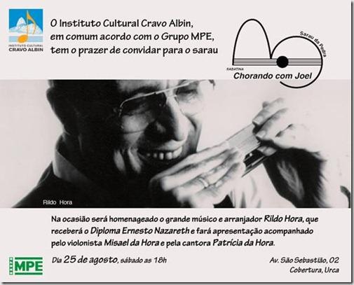 ICCA homenagem a Rildo Hora