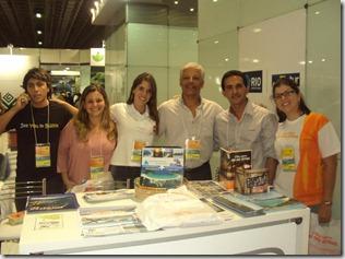 Equipe da Secretaria Municipal de Turismo de Maricá