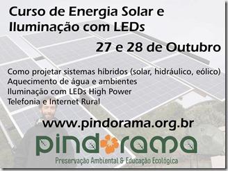 Pindorama curso Energia Solar e Iluminação com LEDs