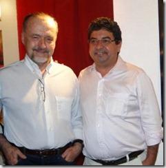 secretario Ricardo Cravo Albim e prefeito Washington Quaquá juntos pela prosperidade de Maricá