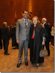 Geraldo Aymoré Junior com a Presidente eleita para o bienio 2013 2014 do TJRJ