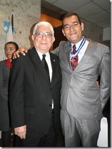 Geraldo Aymoré Junior com o Corregedor Geral de Justiça do RJ Desembargador Antonio José Azevedo Pinto