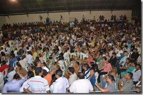 Público presente na posse do Prefeito de Maricá, vice e vereadores