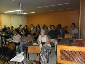 Publico prestigiou e elogiou a reunião