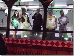 Banda Karakara de Mell Meireles festejou a vitória agradecendo o carinho de todos