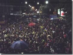 Bloco da Gabriela anoiteceu na avenida