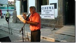 Maricá Vive Poesia contou com a presença do jornalista João Bosco Gaspar