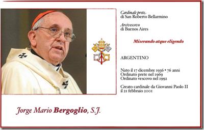 Papa Francisco, informações sobre