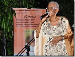 Vó Maria legendária e centenária figura do samba carioca