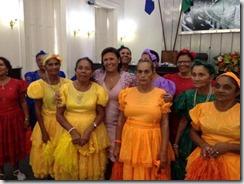 3 Grupo Renascer da cidade de Viçosa-AL-cantou e dançou a música Arco-Íris