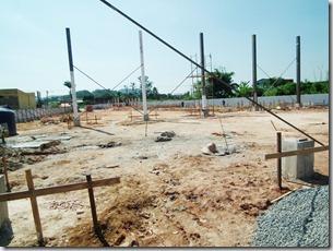 área onde será construida a nova Praça de Esportes de Maricá