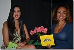 Kelly Kristiny Lima e Janine Siqueira foram as apresentadoras da noite