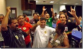 Vitória de Quaquá no PED 2013 - PRESIDENTE ESTADUAL DO PT - RJ