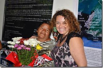 A lider da Aldeia da Mata Verde Bonita, e a primeira dama de Maricá Rosangela Zeidan