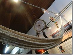 artesanato indígena, rede feita a mão, Aldeia da Mata Verde Bonita. foto Renata Gama.