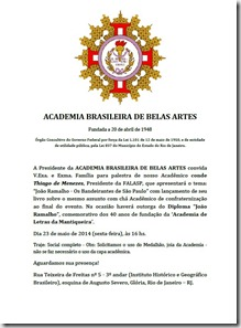 Convite ABBA maio