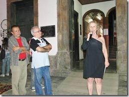 Historiadora Maria Penha falou com orgulho da exposição