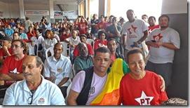 Leci Alberti  e Carlos Alves na Caravana da Cidadania de São Gonçalo