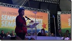 Nossa Presidente Dilma discursa após fala de Lula. Lula diz que estará por todo o país como liderança dessa campanha. É Dilma outra vez!!