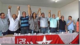 O candidato do PT Lindberg Farias rumo a vitória para Governador do Rio de Janeiro