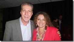 Zeidan e Jorge Bittar no Encontro Nacional do PT 2014