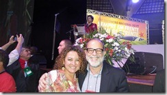 Zeidan e Marcelo Sereno com Dilma. Nosso país abriu nesses quase 12 anos de Governo Lula e Dilma mais de 20 milhões de empregos e frentes de trabalho segundo o IPEA